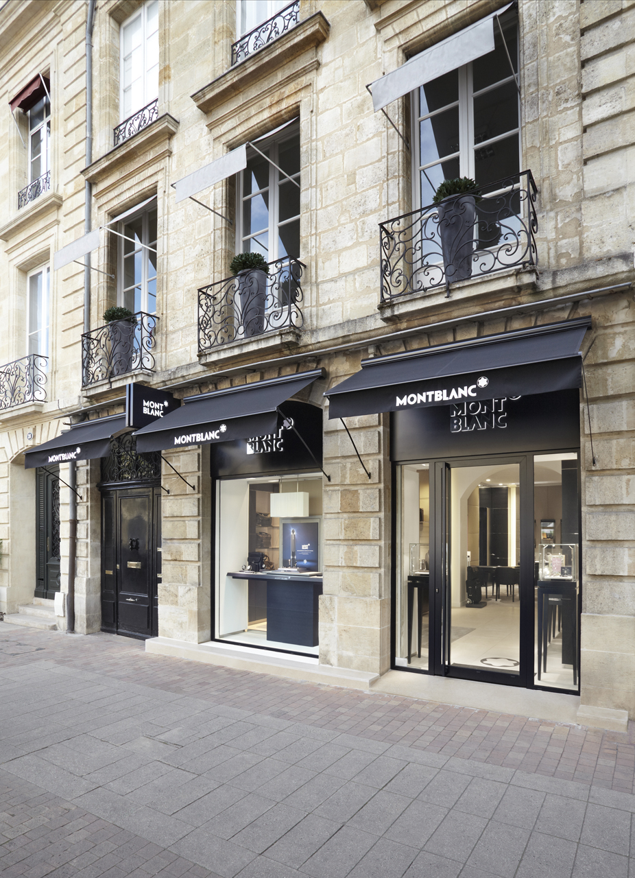 boutique mont blanc bordeaux